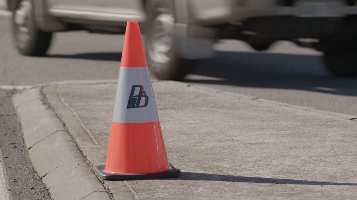 D&D Traffic cone