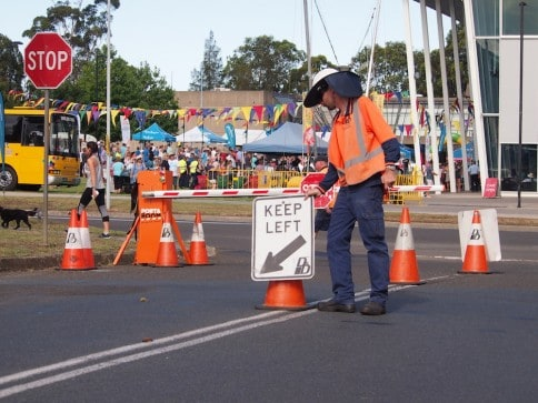 Traffic Management Queen's Baton Relay